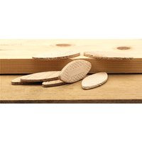 Draper 07261 Jointing Biscuits Assorted - Pack of 100