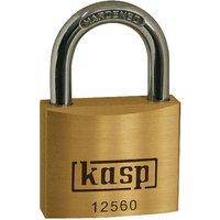 Kasp K12520A4 Premium Brass Padlock - 20mm - KA25204 By RapidOnline-RapidElectronicsLtd.