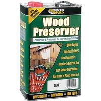 Everbuild LJFG05 Wood Preserver Fir Green 5 Litre