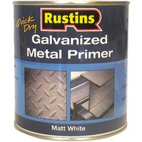 Rustins GALP250 Quick Dry Galvanized Metal Primer 250ml