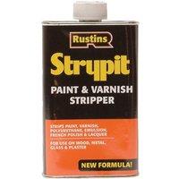 Rustins STNF1000 Strypit Paint andamp; Varnish Stripper New Formulation ...