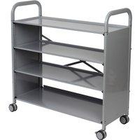 Gratnells Callero Plus Flat Shelf Unit with 4 shelves