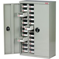 Topdrawer 48 Drawer Small Parts Cabinet With Doors 937 x 586 x 222