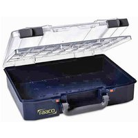 Raaco 142786 CarryLite 80 4x8-0 With Double andamp; U Profile Lid Serv...