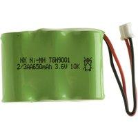 'Enix E24h (tgh9001) Cordless Phone Battery 3x 2/3 Aa 3.6v 650mah