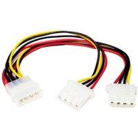 'Startech Pyo2l Lp4 Molex To 2 X Lp4 Molex Power Y Splitter Cable M/f