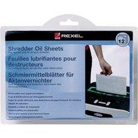 Rexel Shredder Oil Sheets Pack of 12