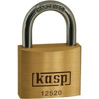 Kasp K12520D Premium Brass Padlock - 20mm By RapidOnline-RapidElectronicsLtd.
