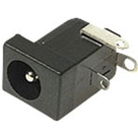 Cliff Electronic - FC68148-DC POWER SKT DC10A (5.5X2.1mm)ANGLED