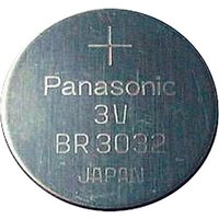 'Panasonic Br3032 3v Lithium Coin Cell Battery 500mah X1