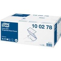 Tork 100278 Extra Soft Singlefold Hand Towel Premium 15 x 200 Shee...