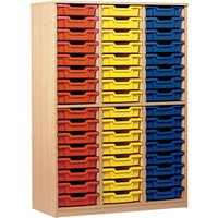 Monarch 48 Tray Storage Cupboard with No Doors