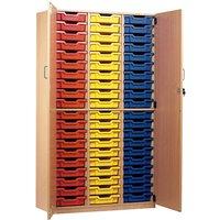 Monarch 60 Tray Storage Cupboard with Lockable Doors