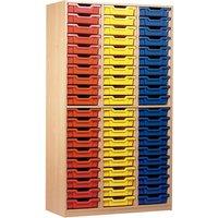 Monarch 60 Tray Storage Cupboard with No Doors