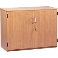Monarch Stock Cupboard with 2 Adjustable Shelves Height 768mm