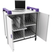 LapCabby Vertical Laptop Storage for 20 Laptops