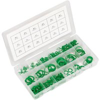 Sealey ACOR225 Air Conditioning Rubber O-Ring Assortment 225pc - M...