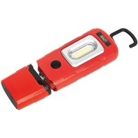Sealey LED3601R Rechargeable 360° Inspection Lamp 2W COB + 1W LED ...