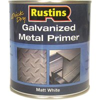 Rustins GALP500 Quick Dry Galvanized Metal Primer 500ml