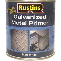 Rustins GALP1000 Quick Dry Galvanized Metal Primer 1 Litre