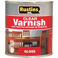 Rustins POGC2500 Polyurethane Varnish Gloss Clear 2.5 Litre
