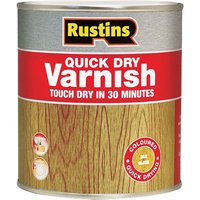 Rustins AVGC250 Quick Dry Varnish Gloss Clear 250ml