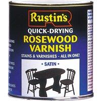 Rustins VSAP250 Quick Dry Varnish Satin Antique Pine 250ml