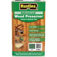 Rustins AWGN5000 Advanced Wood Preserver Green 5 Litre