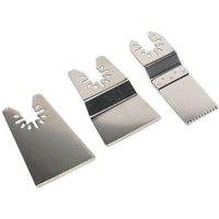 Sealey SMTA1 Multi-Tool Blade Set 3pc