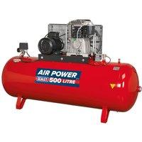 Sealey SAC55075B Compressor 500ltr Belt Drive 7.5hp 3ph 2-St