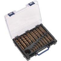 Sealey DBS170CB HSS Cobalt Drill Bit Set 1-10mm 170pc