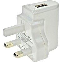 TT Electronics SW4492-W-V5 5V DC 1A USB Power Supply UK Pins White...