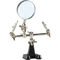 Weller WLACCHHB-02 Helping Hand With Magnifying Glass andamp; 2 Alligato...