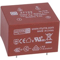 Myrra 47122 2.75W 5V AC-DC Power Supply Single Output