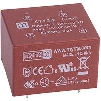 Myrra 47124 2.5W 12V AC-DC Power Supply Single Output
