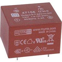 Myrra 47156 5W 24V AC-DC Power Supply Single Output