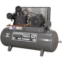Sealey SAC32775B Compressor 270ltr Belt Drive 7.5hp