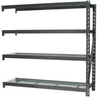 Sealey AP6572E H/D Racking Extension Pk - 4 Mesh Shelves 640kg Cap...
