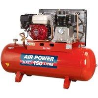 Sealey SA1565 Compressor 150ltr Belt Drive Petrol Engine 6.5