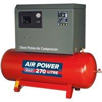 Sealey SAC72775BLN Compressor 270ltr Belt Drive 7.5hp 3ph 2-