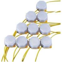 Draper 90094 4W SMD LED Festoon String Lights (22 Metre Cable, Set...