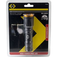 CK Tools T9530R LED Hand Torch Set 300 Lumens - Rechargeable