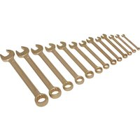 Sealey NS001 Combination Spanner Set 13pc 8-32mm Non-Sparking
