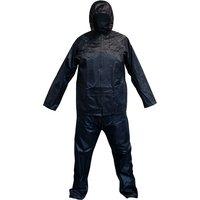 Worksafe 9710XL Flexible Waterproof Suit 2pc Navy Blue - X-Large