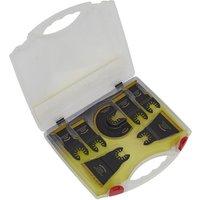 Worksafe WMTSET Multi-Tool Blade Set Metal andamp; Wood 7pc