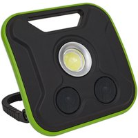 Sealey LED200WS Floodlight/Power Bank + Wireless Speakers 20W COB ...