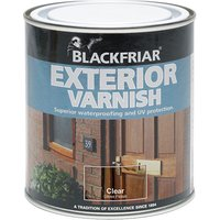 Blackfriar BF0090002F3 Exterior Varnish UV77 Clear Satin 250ml