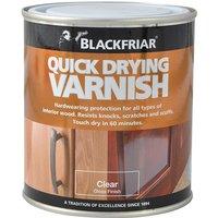 Blackfriar BF0270001E1 Quick Drying Duratough Interior Varnish Cle...