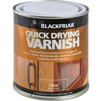 Blackfriar BF0270002F1 Quick Drying Duratough Interior Varnish Cle...