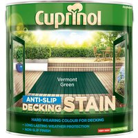 Cuprinol 5083458 Anti-Slip Decking Stain Vermont Green 2.5 litre
